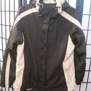 Columbia Sportswear Lightweight Hooded Coat Jacket